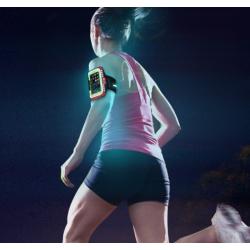 FUNDA PARA MÓVIL BRAZO LED Brazalete para móvil con luz led de advertencia