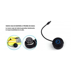 CINTURONES BOLSA CON LUZ LED Cinturón elegante y deportivo con luz de advertencia.